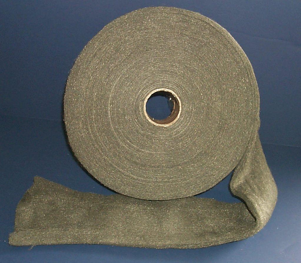 Grade #4 EXTRA COARSE 10 lb Case Steel Wool Rolls