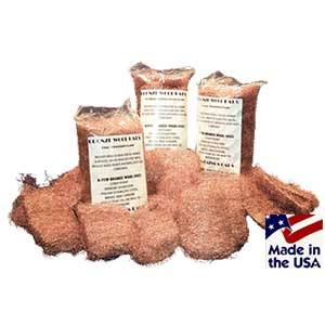 8 Pad Pack Bronze Wool - Mann Wood Care