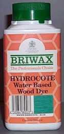 Briwax Water Based Wood Dye - Mann Wood Care